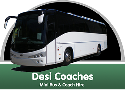 Logo for Desi Coaches