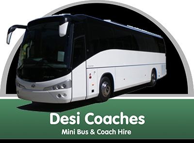 Logo for Desi Coaches